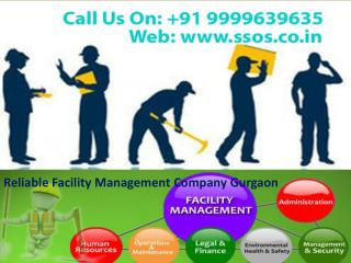 Reliable Facility Management Company Gurgaon call 9999639635