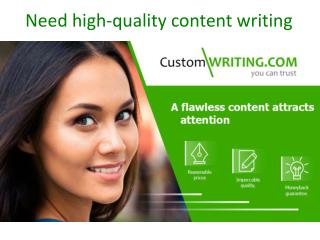Welcome to Customwriting