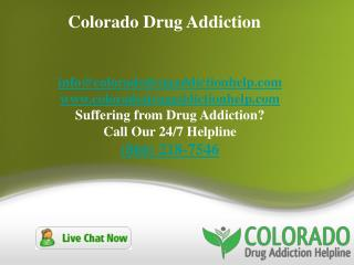 Colorado Drug Addiction
