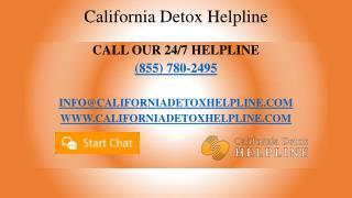 California Detox Helpline