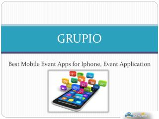 Grupio - Powering the connected event