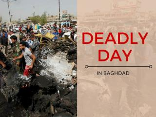 Deadly day in Baghdad