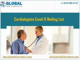 Cardiologists Email & Mailing List