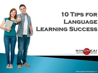 10 Tips for Language Learning Success