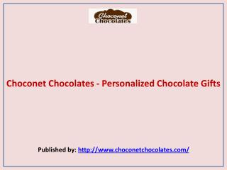 Choconet Chocolates