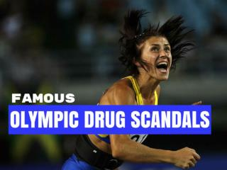 Famous Olympic drug scandals