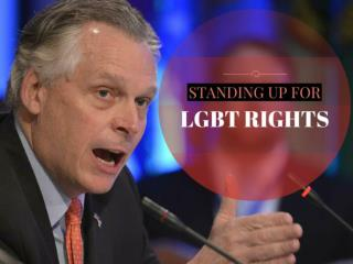 Standing up for LGBT rights