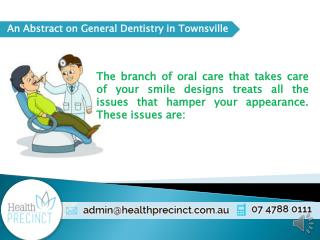 Fix your Smile Cosmetic Dentistry in Townsville