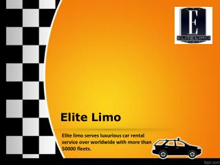 Elite Limo All Grounded Transportation