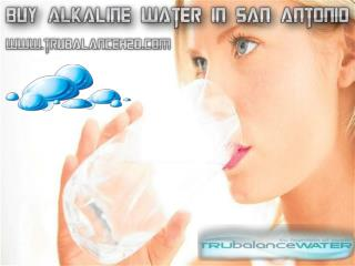 Buy Alkaline Water in San Antonio