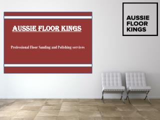 Floor Sanding and Polishing in Newcastle