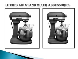 KitchenAid Mixers Attachments & Accessories