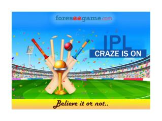 Where there is IPL, there is Prediction
