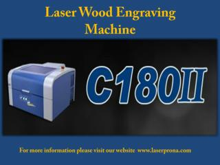 Laser wood engraving machine