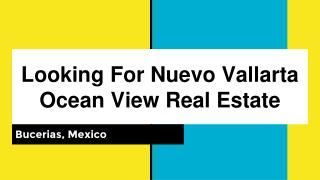Are You Looking For Nuevo Vallarta Ocean View Real Estate