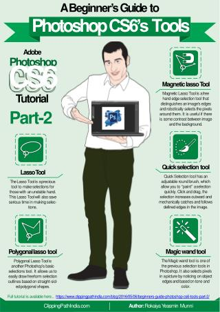 A Beginner's Guide to Photoshop CS6 Tools – Part 2