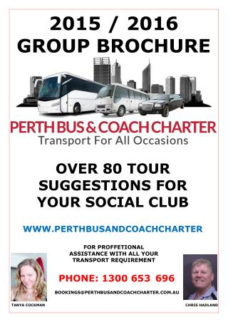 Bus Hire Perth - Perth Bus and Coach Charter