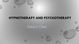 Hypnotherapy and Psychotherapy Adelaide