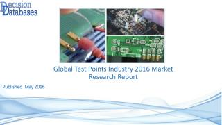 Global Test Points Industry Share and 2021 Forecasts Analysis