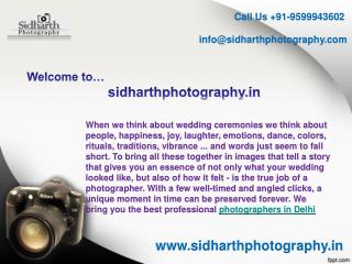 Wedding, Fashion, ecommerce photographers in Delhi