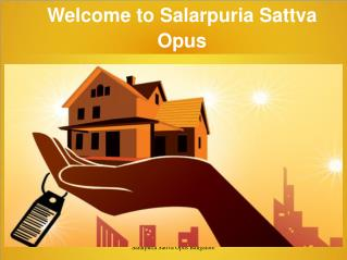 Salarpuria Sattva Opus coming with new project