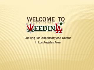 Marijuana Dispensaries Near Me in Los Angeles