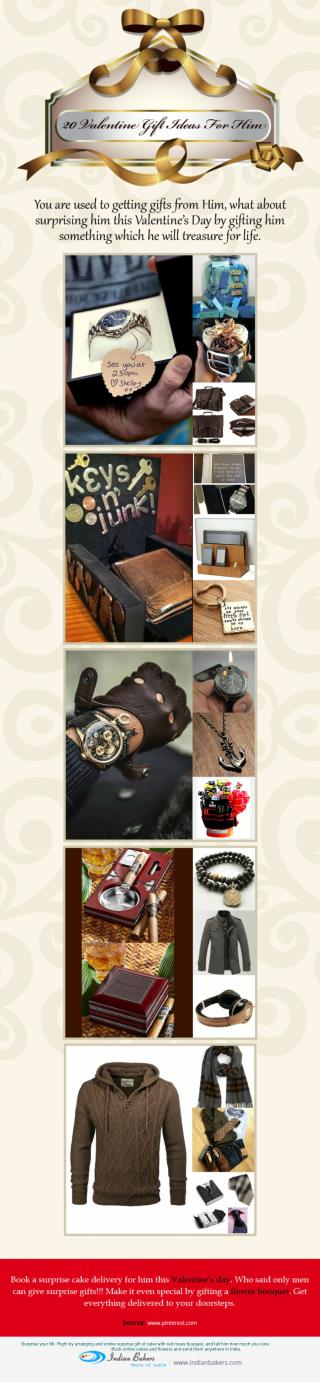 20 Valentine Gift Ideas For Him
