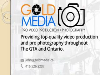 Gold Media Professional Contemporary Photography
