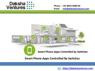 Smart phone apps to control Switches