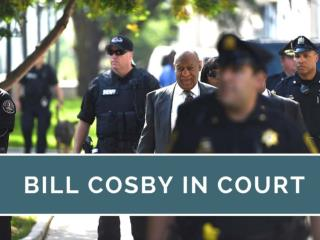 Bill Cosby in court