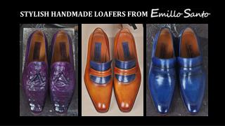 Best and Stylish Men's Handmade Loafers at Emillo Santo
