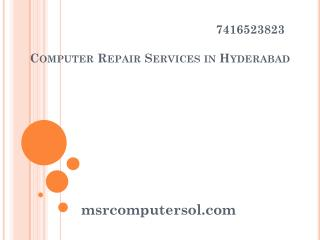 Computer Repair Services in Hyderabad