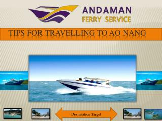 Tips for Travelling to Ao Nang