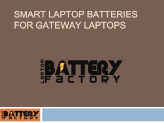 Smart Laptop Batteries For Gateway Laptops