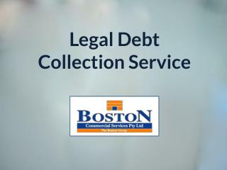 Legal Debt Collection Service
