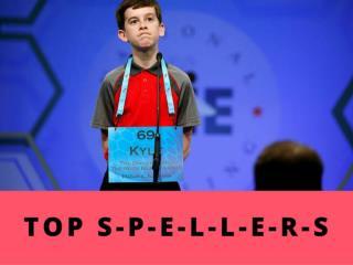 Top S-P-E-L-L-E-R-S