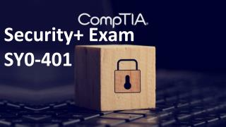 CompTIA Security   SY0-401 Practice Test Questions