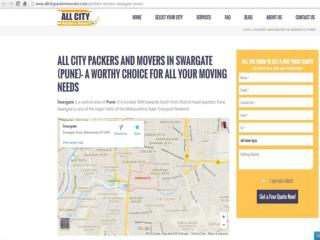 Packers & Movers in Swargate (Pune)- All City Packers &Movers®