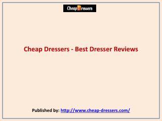Cheap Dressers - Best Dresser Reviews