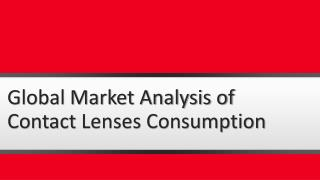 Contact Lenses Market to See Further Boost in EyeWear Industry