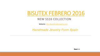 BISUTEX FEBRERO 2016 | Bisutería Fina Online