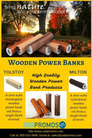 Wooden Power Banks