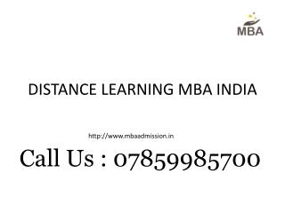 distance learning MBA, distance MBA, distance learning education