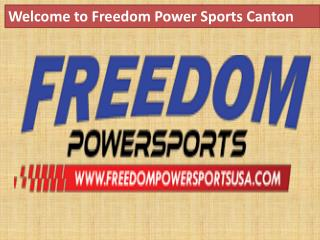 Welcome to Freedom powersports canton