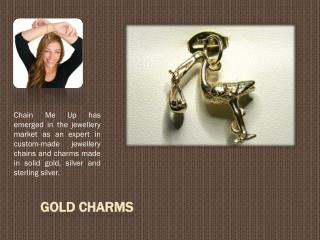 Buy Gold Charm Online