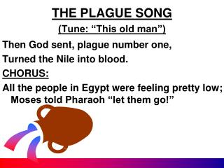 "THE PLAGUE SONG (Tune: ""This old man"")"