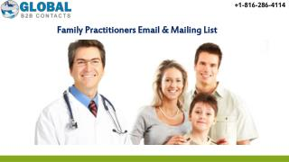 Family practitioners Email & Mailing List