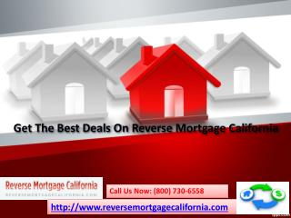 Get The Best Deals On Reverse Mortgage Los Angeles California