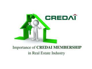 Importance Of CREDAI Membership In Real Estate Industry