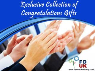 Exclusive Collection of Congratulations Gifts